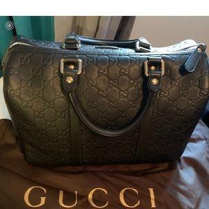 Oversized Gucci Boston Bag